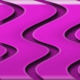 Pink Swizzle. Funky pink 3d swirl background Royalty Free Stock Image