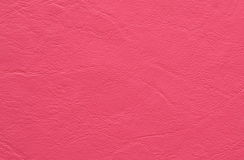 Pink synthetic leather background and texture Stock Photos