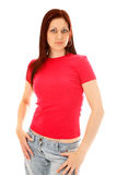 Pink t shirt Royalty Free Stock Images