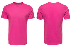 Pink t-shirt, clothes Stock Image