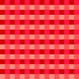 Pink tablecloth Vector. Traditional tablecloth pattern Vector. Pink color square pattern Stock Photos