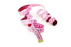 Pink tailoring meter Royalty Free Stock Photos
