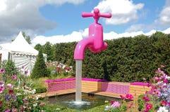 Pink tap Stock Photo