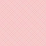 Pink tartan check background. Stock Photography