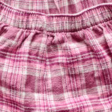 Pink tartan trousers Royalty Free Stock Photos