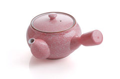 Pink tea pot Stock Photo