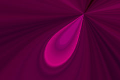 Pink Teardrop Abstract Royalty Free Stock Images
