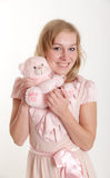 Pink teddy Royalty Free Stock Photo