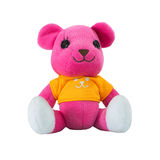 Pink teddy bear Stock Photography