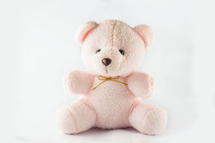 Pink teddy bear Stock Photos