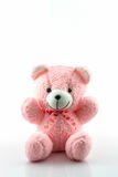 Pink teddy bear. Royalty Free Stock Image
