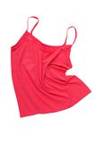 Pink  tee shirt Stock Image
