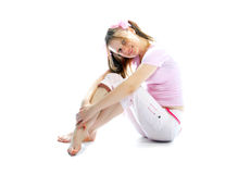 Pink teenager Royalty Free Stock Images