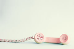 Pink telephone Royalty Free Stock Photos