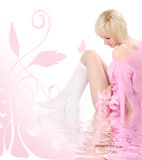 Pink tender Stock Images