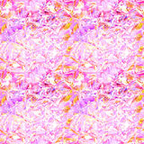 Pink tender mosaic pattern as abstract background. Stock Photo