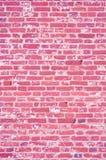Pink texture, brick wall Royalty Free Stock Image