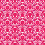 Pink texture with circles and lines. Stock Image