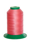 Pink thread spools Stock Photography