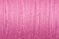 Pink thread texture background Royalty Free Stock Images