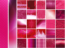 Pink thumbnails & banners Stock Photo