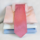 Pink tie Stock Photo