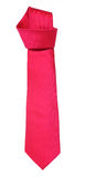Pink tie. Isolated on white background Royalty Free Stock Photos