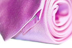 Pink tie royalty free stock photo