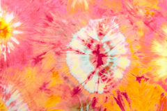 Pink Tie Dye Stock Photo