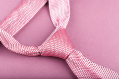 Pink ties royalty free stock image