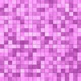 Pink Tile Mosaic Stock Photo