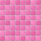 Pink tile pattern Stock Photos