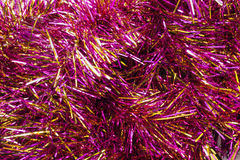Pink tinsel Royalty Free Stock Photos