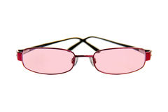Pink Tinted Glasses Stock Image