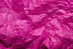 Pink tissue paper texture. For background Stock Photo