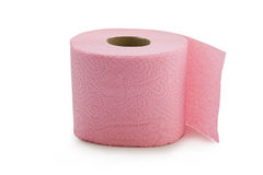 Pink Toilet Paper Stock Images