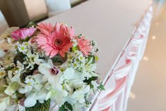Pink tone flower bouquet Royalty Free Stock Photo