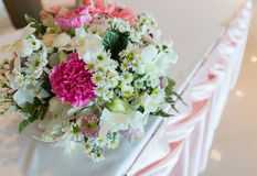 Pink tone flower bouquet Stock Images