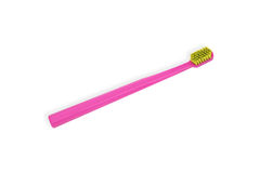 Pink toothbrush Stock Photography