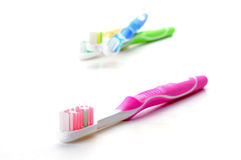 Pink Toothbrush Royalty Free Stock Image