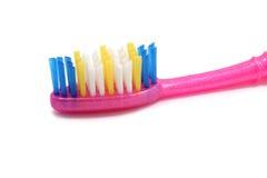 Pink toothbrush Royalty Free Stock Photos