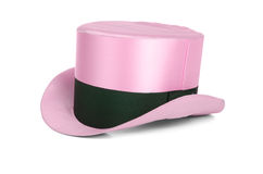 Pink top hat Royalty Free Stock Image