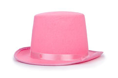 Pink topper hat Royalty Free Stock Images