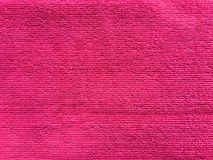 Pink towel textile texture background. And texture for Stock Photos