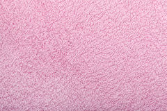 Pink towel texture Royalty Free Stock Photography