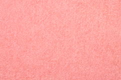 Pink towel texture background Stock Photo