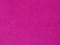 Pink towel texture, cloth background Royalty Free Stock Image