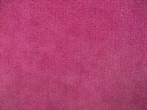 Pink towel texture, cloth background Royalty Free Stock Photo