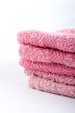 Pink towels Royalty Free Stock Photography