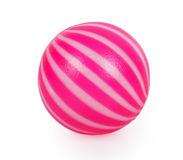 Pink toy ball Stock Photography